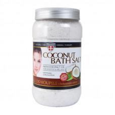 Soľ do kúpeľa s kokosovým olejom, 1200 g