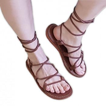 Sandále kristusky tmavé