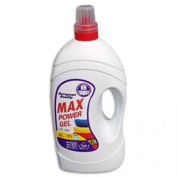 Max Powerl 4L tekutý prací prostriedok
