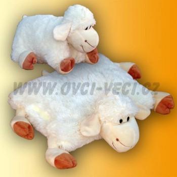 Rozkladací vankúš ovečka, dlhosrstá