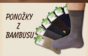 Ponožky z bambusu