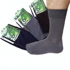 Bambusové ponožky, mix farieb 6ks hladké