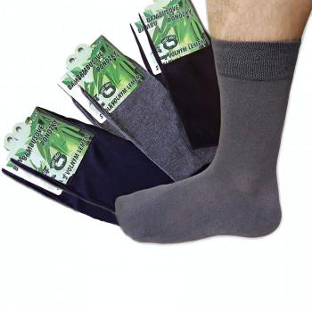 Bambusové ponožky, mix farieb 6 ks hladké