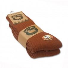 Ponožky z ovčej vlny 425 g CAMEL - sada 2 ks