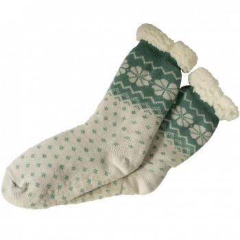 Spacie ponožky - vzorované