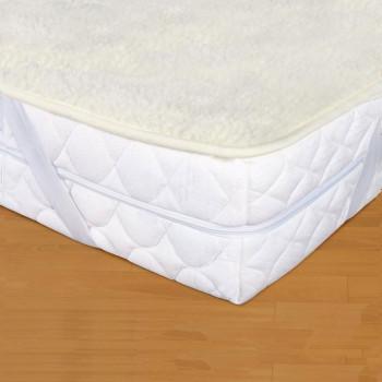 Plachta z ovčej vlny - matracový chránič