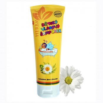 Detský vlasový šampón 250 ml, tuba