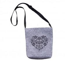 Filcová kabelka na suchý zips 00081