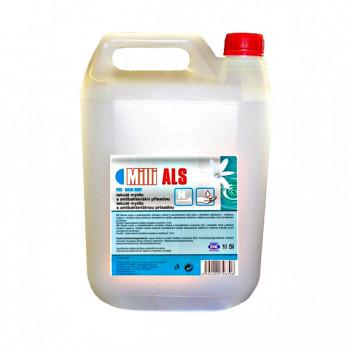 Tekuté mydlo s antibakteriálnou prísadou 5 L