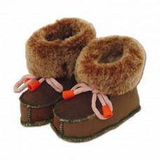 Detské kožené topánočky