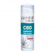 CBD pleťový krém s kyselinou hyalurónovou, 30 ml