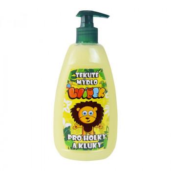 Detské krémové mydlo s vôňou banánu, 500 ml