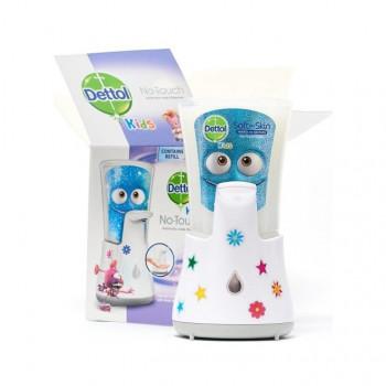 DETTOL bezdotykový dávkovač mydla a hydratujúca náplň, 250 ml