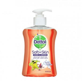 DETTOL ovocné bubliny detské tekuté mydlo dávkovač, 250 ml