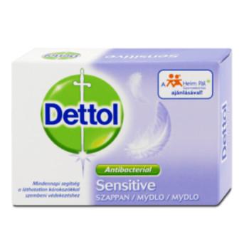 Dettol Sensitive antibakteriálne toaletné mydlo 100 g