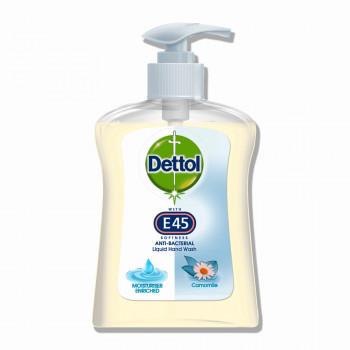 DETTOL Antibakteriálne tekuté mydlo s hermančekom E45, 250 ml