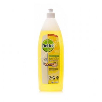DETTOL Antibakteriálnyi prostriedok na podlahy Lemon, 1 L