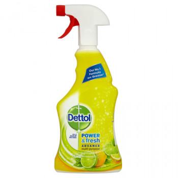 DETTOL dezinfekčný univerzálny čistič v spreji Citrus, 500 ml