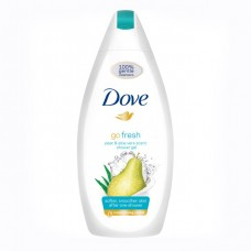 Dove Go Fresh Pear & Aloe Vera Scent sprchový gel, 750 ml