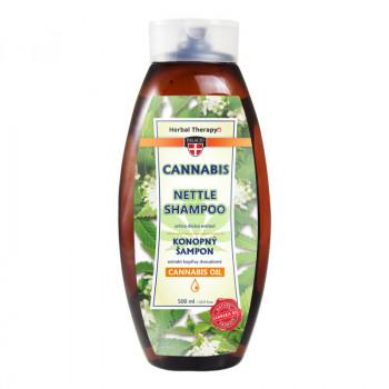 Konopný šampón s žihľavou, 500 ml