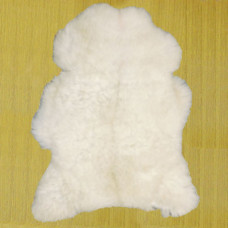 Ovčia koža biala