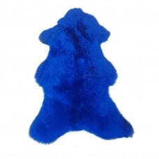 Ovčia koža farbená modrá