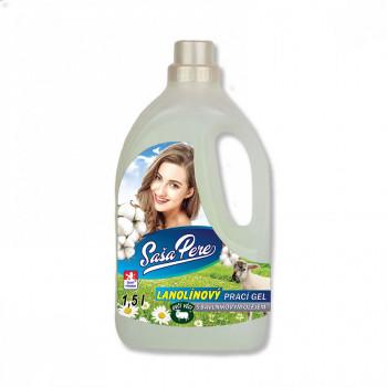 Lanolínový prací gél s bavlníkovým olejom 1,5 L