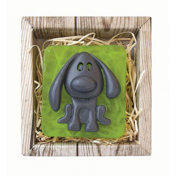 BOHEMIA  Pes ručne vyrábané mydlo v krabičke 80 g