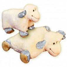 Rozkladací vankúš ovečka trblietavá