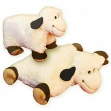 Rozkladací vankúš ovečka s čiernymi uši