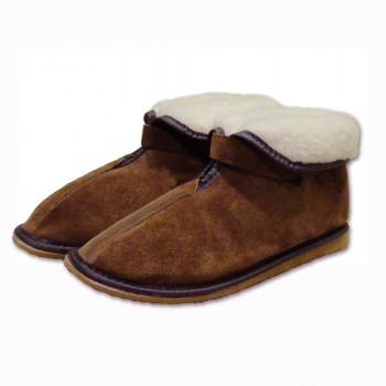 Členkové papuče - na suchý zip
