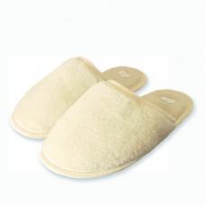 Vlnené papuče prírodné