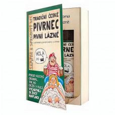 Darčeková sada kniha Pivrnec - gél 200 ml a šampón 200 ml