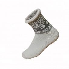 Funkčné ponožky z ovčej vlny ruličkové
