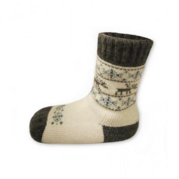 Funkčné detské ponožky z ovčej vlny Merino