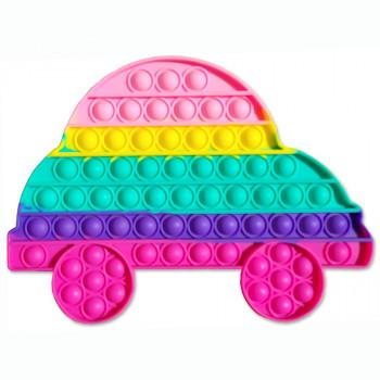 Pop It antistresová hračka - veľké auto