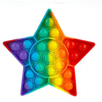 Pop It antistresová hračka Hvezda