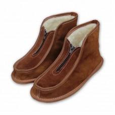 Papuče členkové - na zip