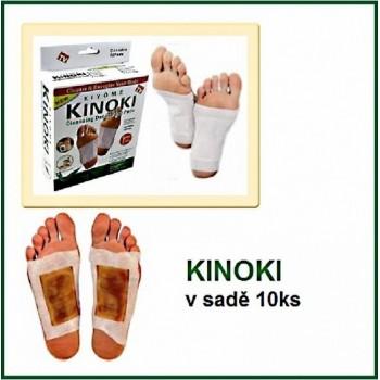Kinoki - detoxikačné náplaste