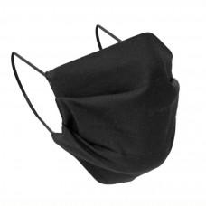 Bavlnená ochranná rúška dvojvrstvová čierna 2