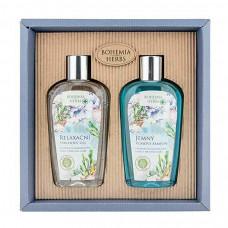 Darčeková kozmetická sada - gél 250 ml a šampón 250 ml - Mŕtve more