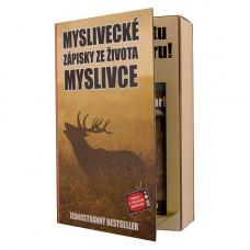 Kozmetická sada Kniha pre poľovníkov - gél 200 ml a šampón 200 ml
