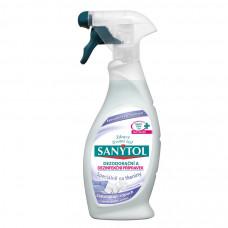 SANYTOL Dezinfekčný a dezodoračný prípravok na tkaniny, 500 ml