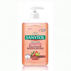 SANYTOL Dezinfekčné mydlo do kuchyne - Grapefruit & Limetka, 250 ml