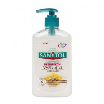 sanytol Dezinfekčné mydlo vyživujúce - Mandľové mlieko & Materská kašička