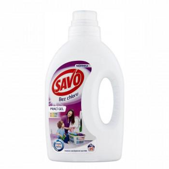 SAVO Color bez chlóru prací gél na farebné prádlo, 1 l
