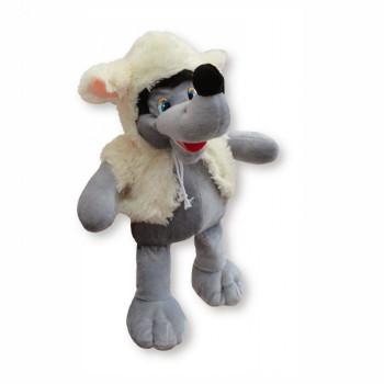 Vlk v prevleku za ovcu 32 cm